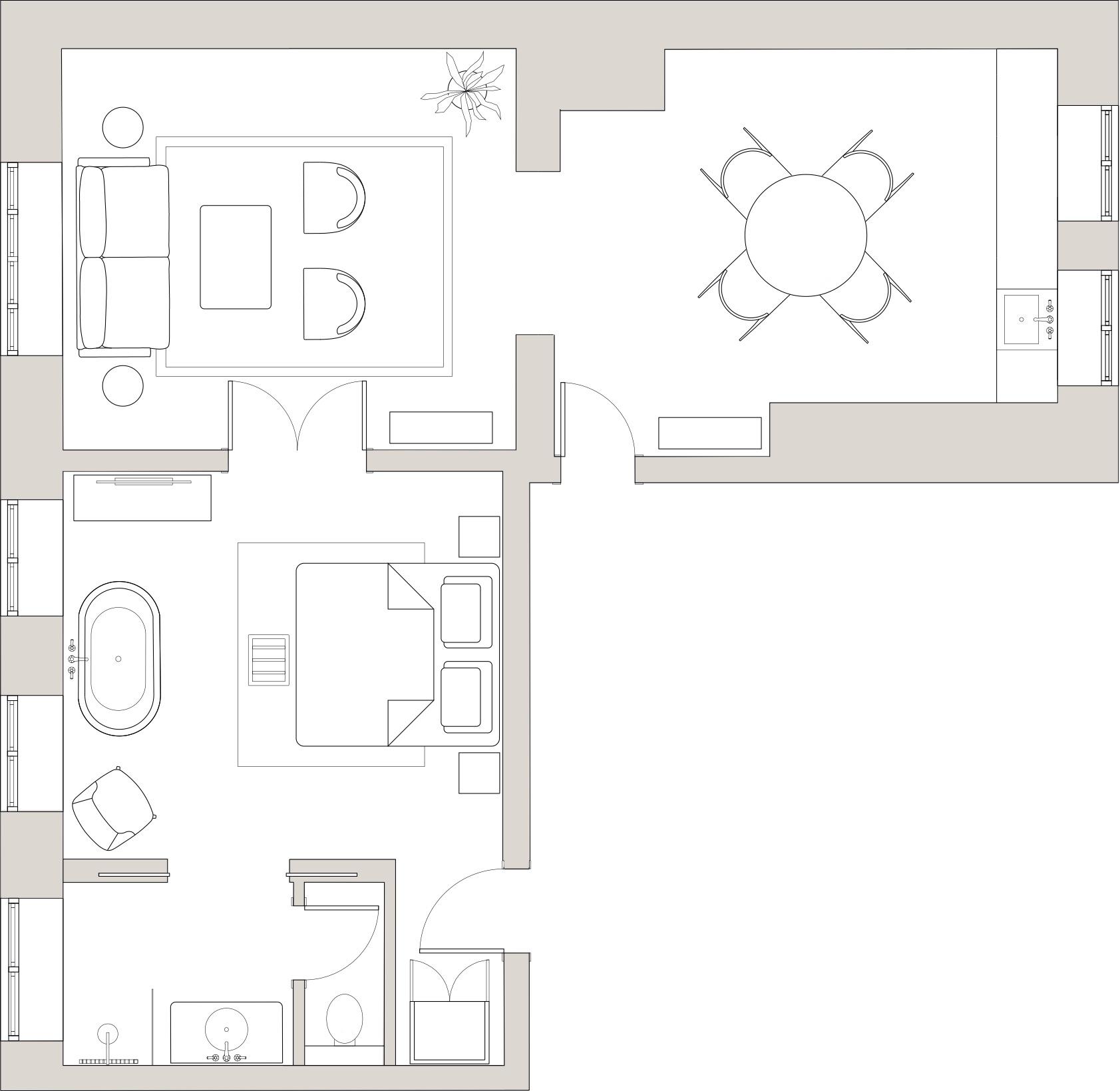 Sanders Apartment