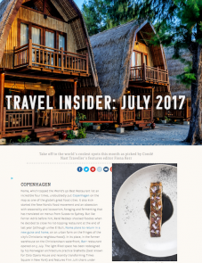 Condé Nast Traveller – 07.17