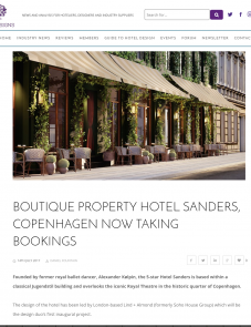 Hotel Designs – 07.17